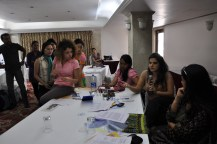 Participants debate values that restrict women and men within the patriarchal framework