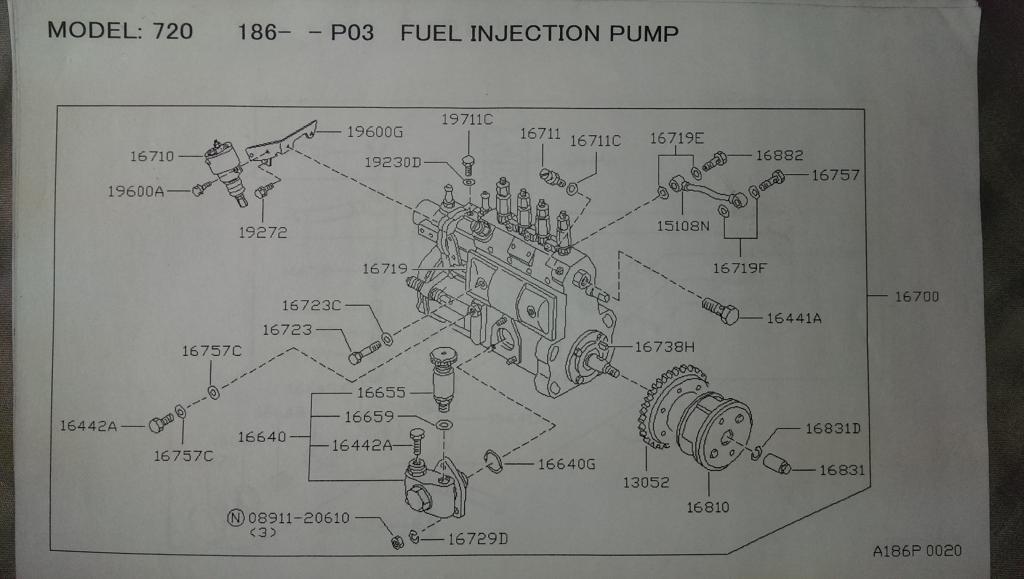 Nissan Td27 Wiring Diagram Schematic Diagram