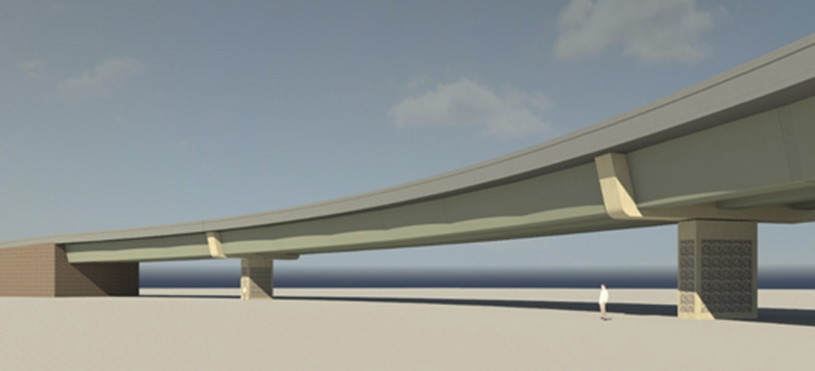 Precast Bridges Innovative System For Curved Precast Posttensioned Concrete I