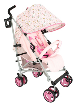 3 Wheel Prams Argos My Babiie Pink Unicorn Lightweight Stroller
