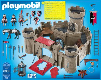Playmobil Hawk Knights Castle Kids George At Asda