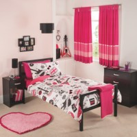 George Home Rock Star Girls Duvet Set