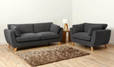 Interio Sofa George Asda Direct Sofas And Armchairs Brokeasshome