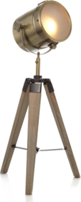 Industrial Tripod Table Lamp | Home & Garden | George