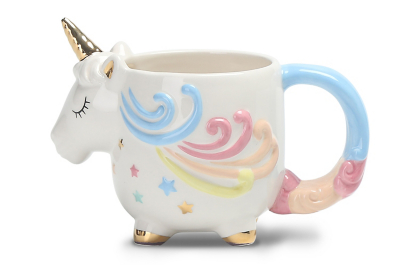 Unicorn Shaped Mug Home Garden George