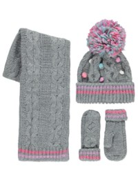 Hat Glove Scarf Set For Toddlers   Mount Mercy University