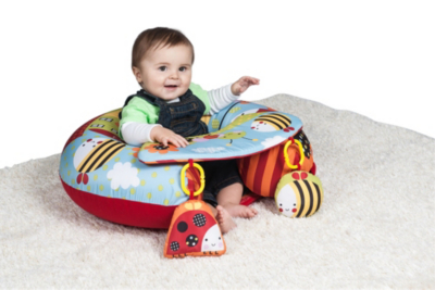Red Kite Cotton Tail Sit Me Up Play Gym Baby George At