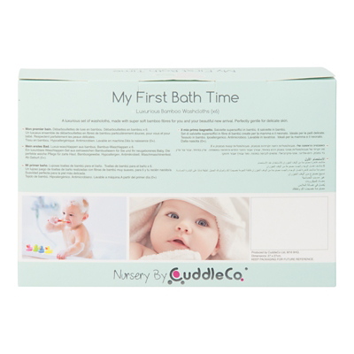Bad Set For Baby Cuddleco Comfi Love My First Bath Time Pinkwhite