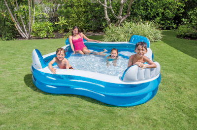 Aldi Intex Pool Intex Inflatable Family Lounge Pool