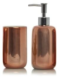 George Home Copper Bath Accessories Range | Bathroom ...
