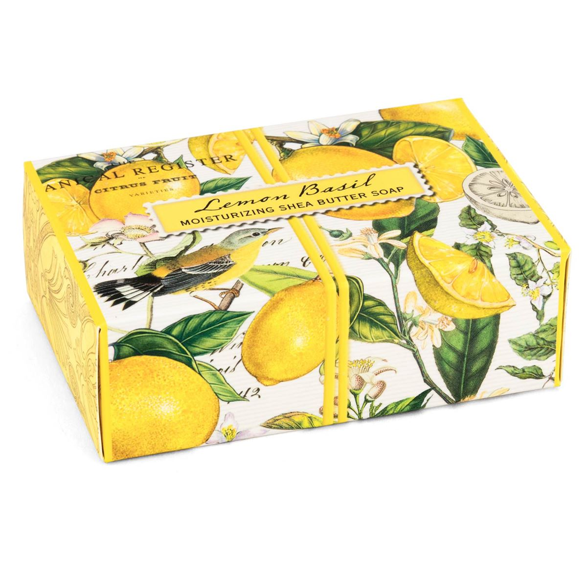 Cucina Bar Soap Michel Design Works Lemon Basil Boxed Single Soap 4 5oz
