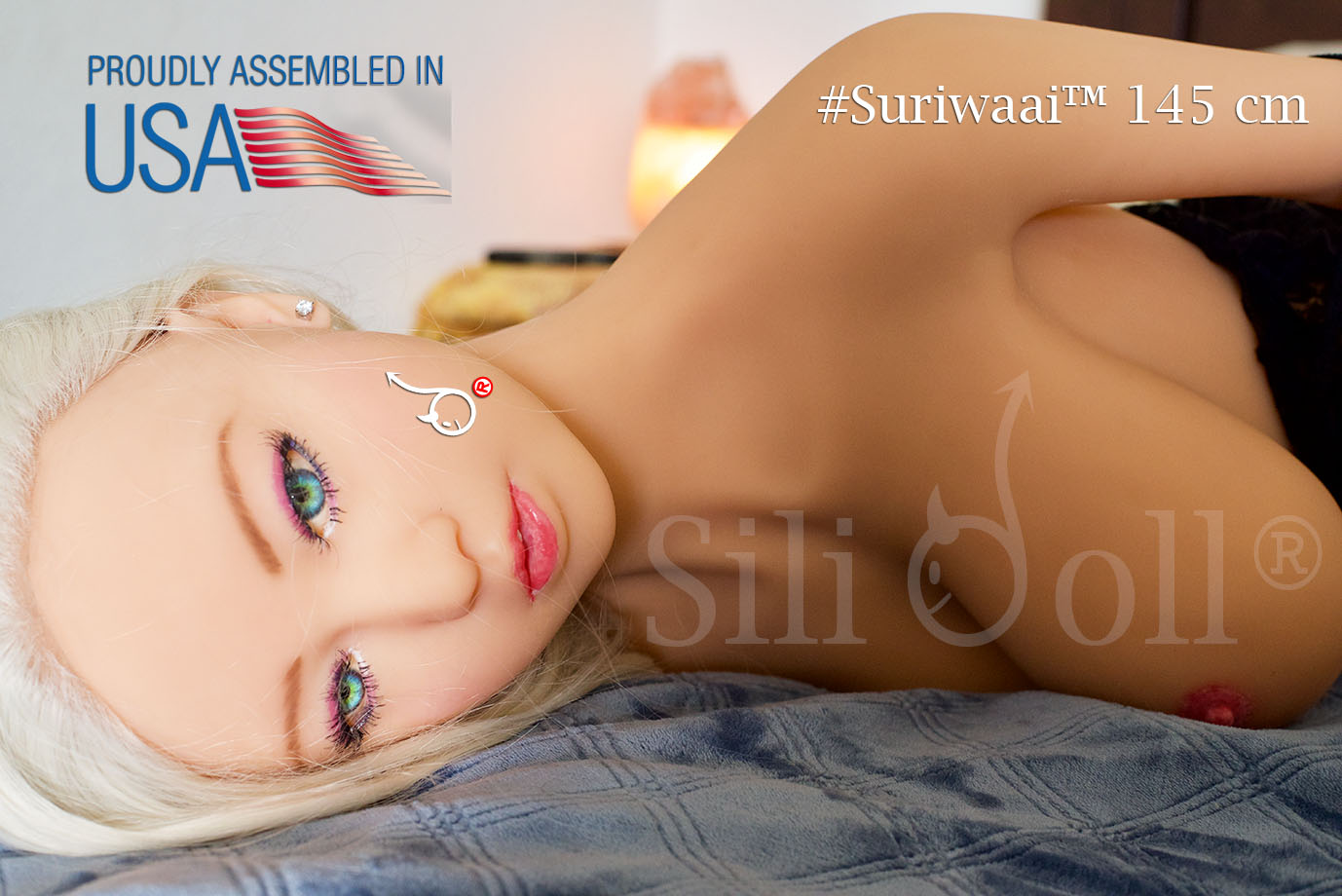 Suriwaai Master - First Sex Doll Sili Doll Assembled in the USA