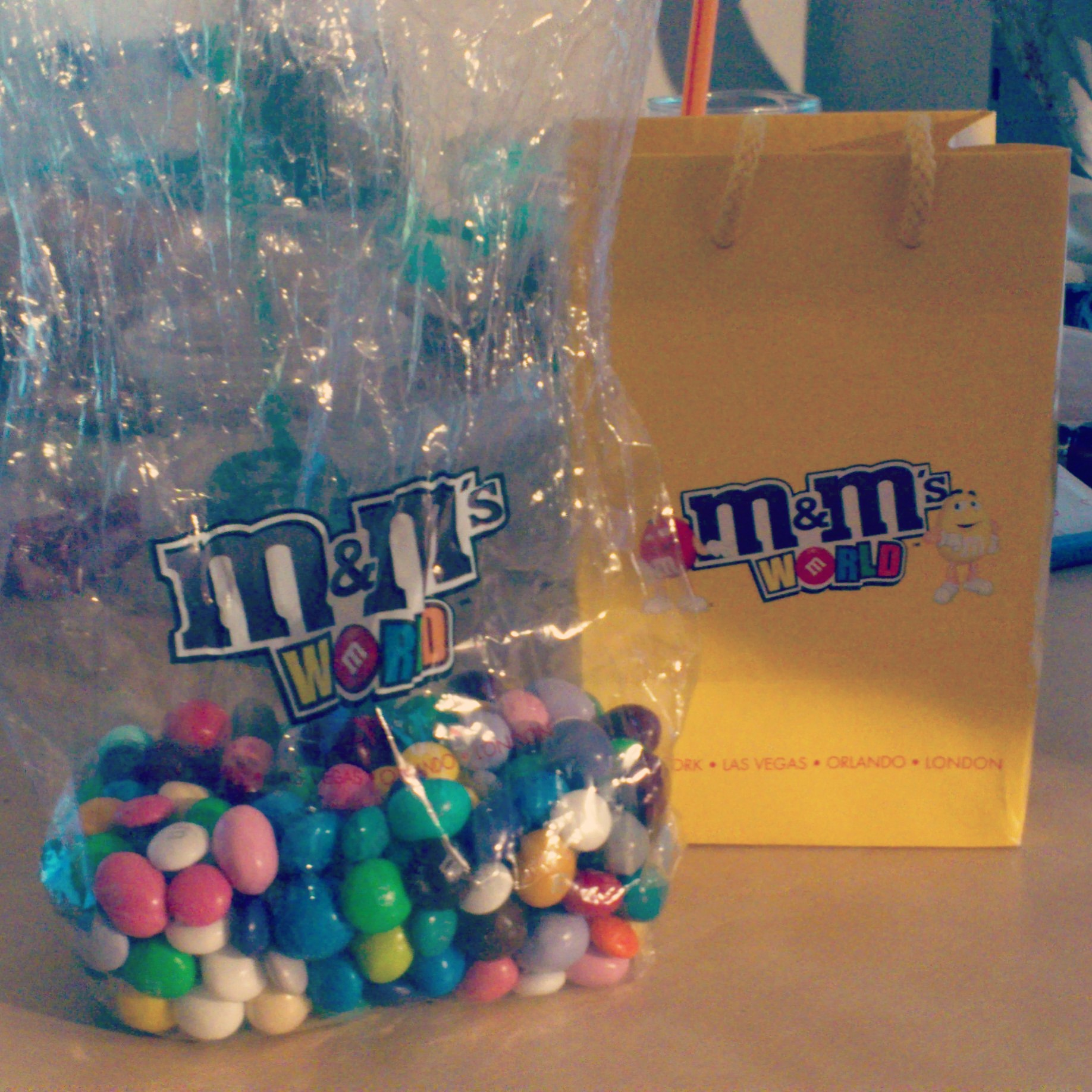 M&m Brezel M Andms World New York As Far As Possible