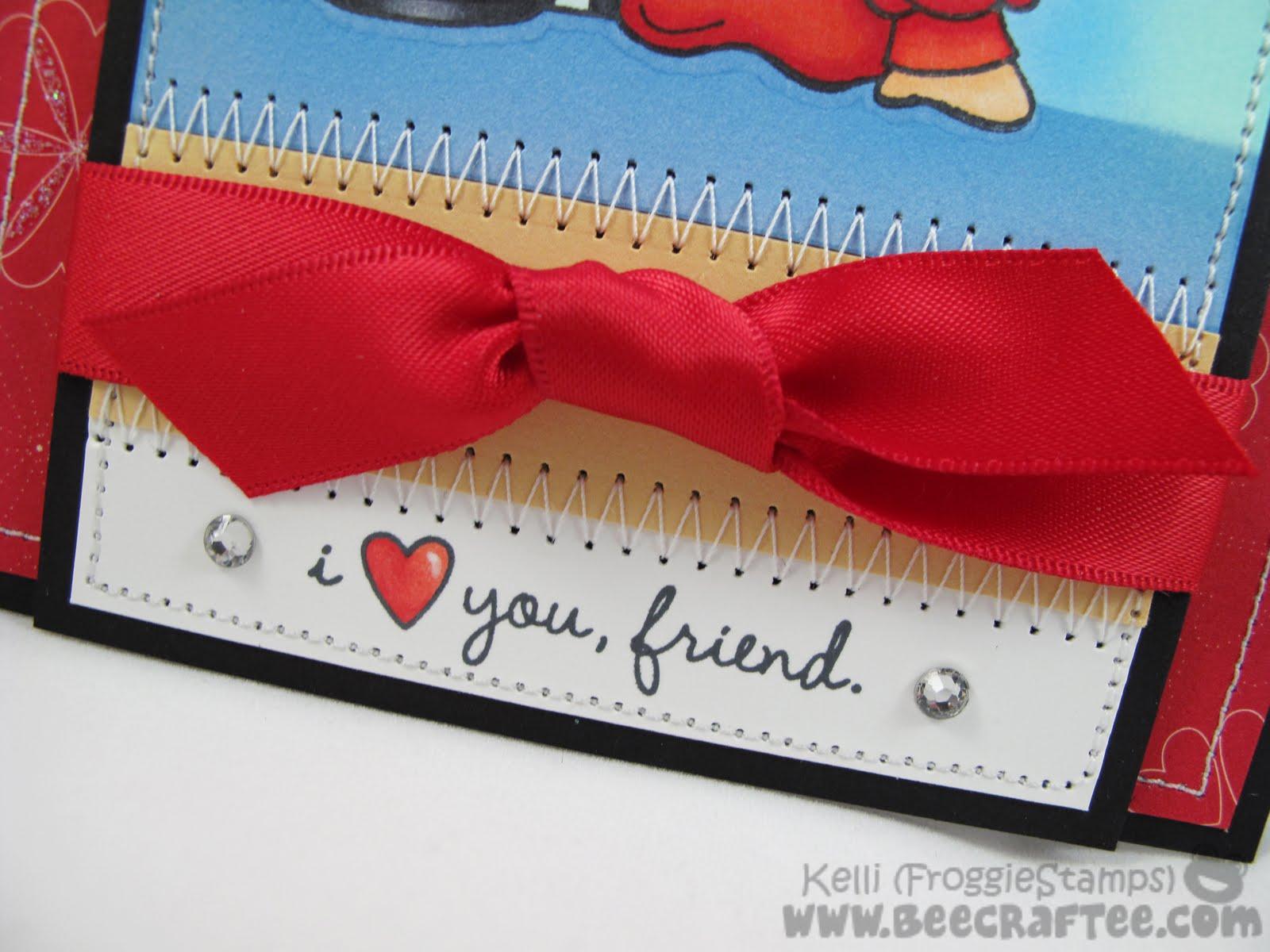 Attractive Copic Blonde Hair I Love You Friend 4 Love You Friendship Love You Friend Clipart inspiration Love You Friend