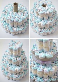 Rustic Glam Baby Shower, Plus Make a Diaper Cake | A Shade ...