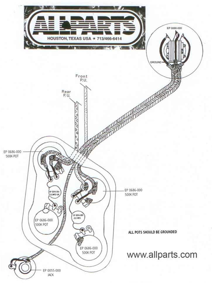 historic les paul wiring diagram