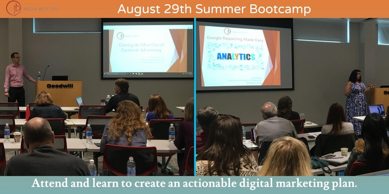 JB Media Institute's Summer Digital Marketing Bootcamp