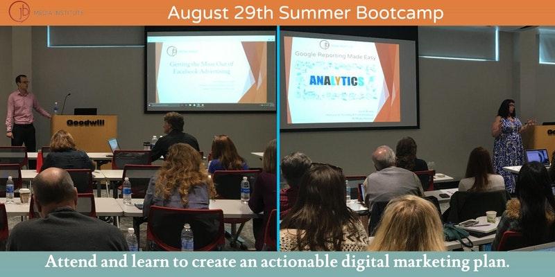 JB Media Institute's Summer Digital Marketing Bootcamp