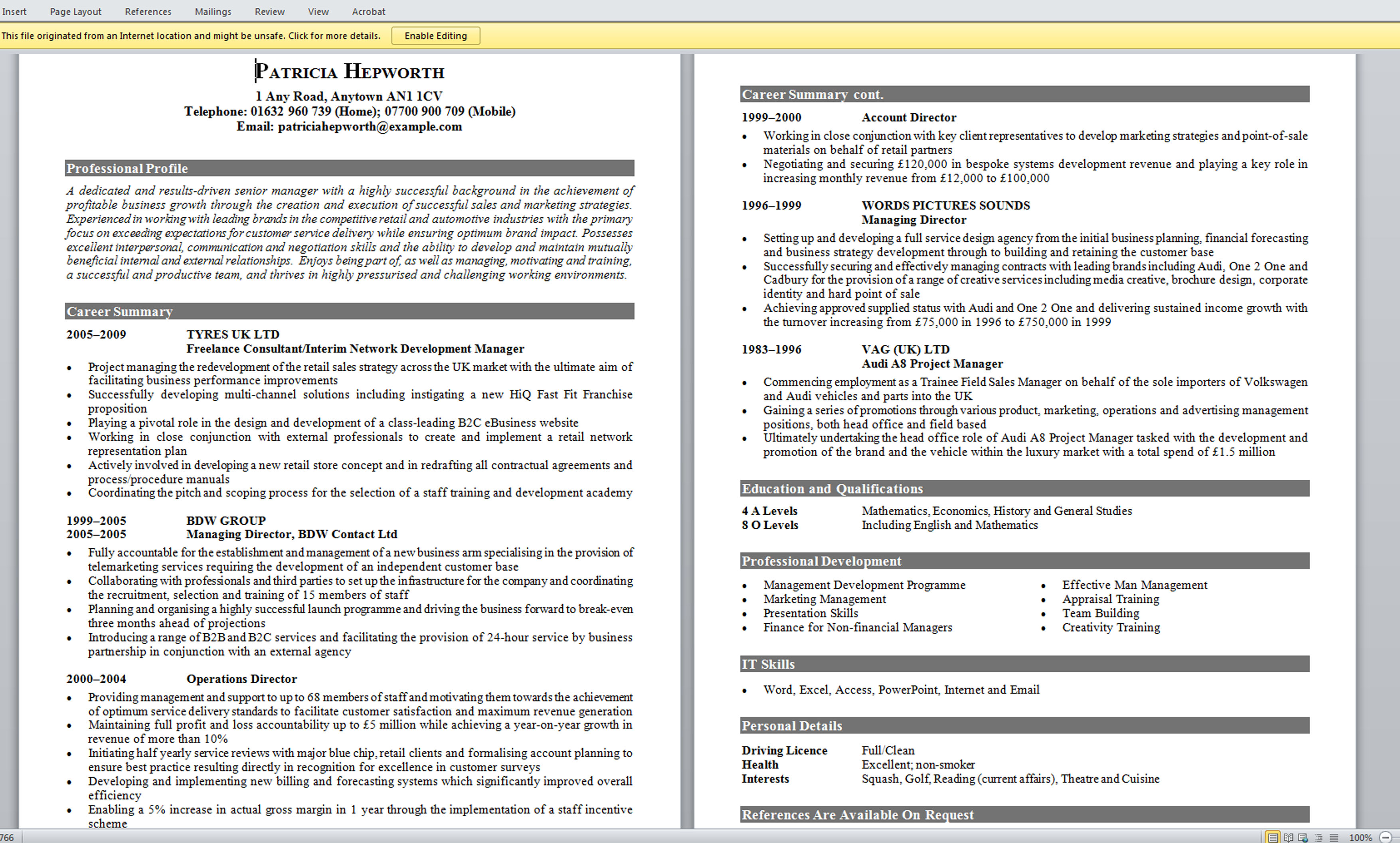 ... Combination Resume Sample Hybrid Resume Template ... - good it resume