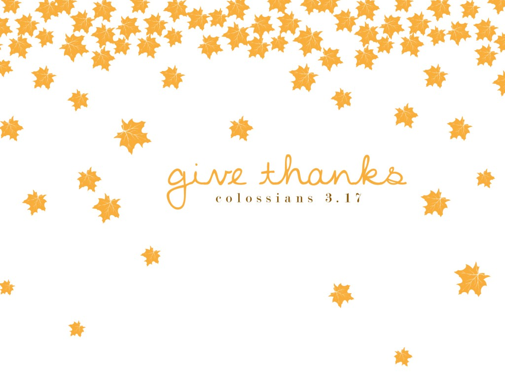 Fall Give Thanks Wallpaper Hello November Ashlee Proffitt