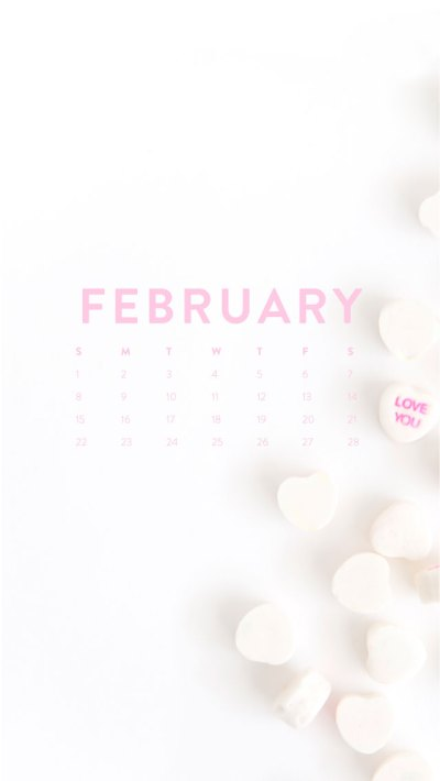 Hello February! Desktop + IPhone Wallpapers! – Ashlee Proffitt