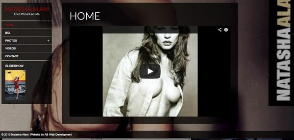 Natasha Alam Home Page
