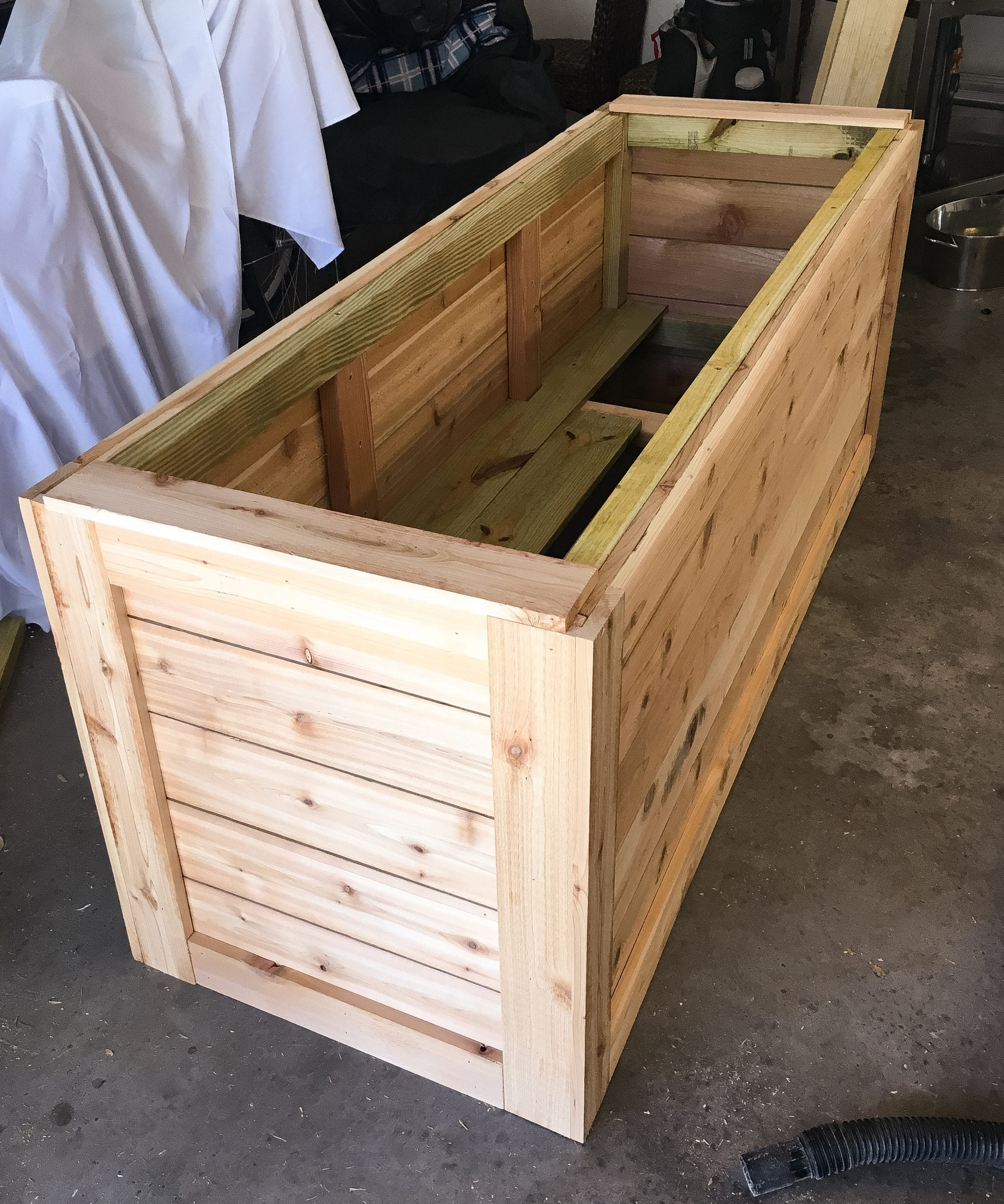 Box à Planter Backyard Diy Series Part Iiii Cedar Wood Planter Box