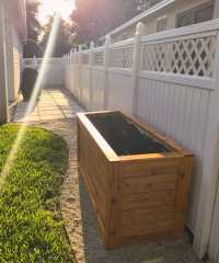 BACKYARD DIY SERIES PART IIII: Cedar Wood Planter Box ...