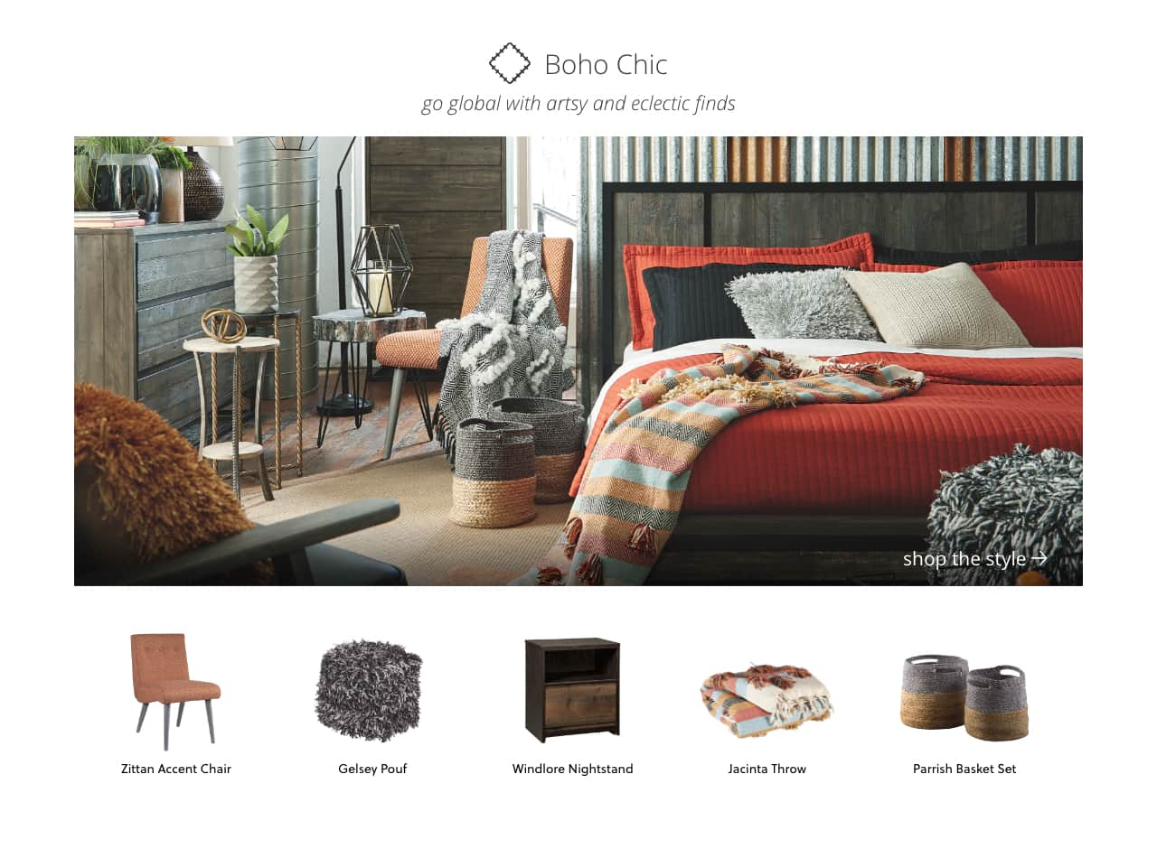 Urban Sofa Nederland Shop By Style Home Furnishings Decor Ashley Furniture Homestore