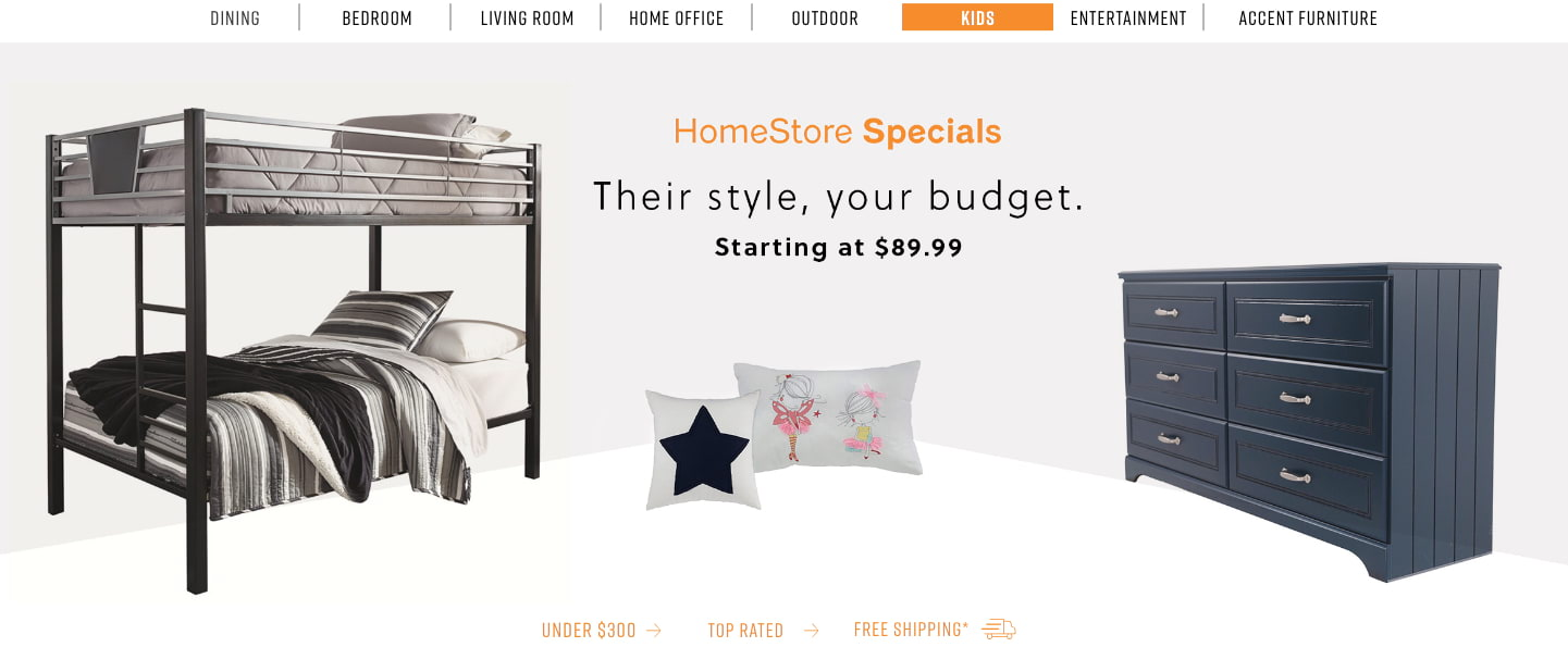Kids Furniture Homestore Specials Kids Furniture Ashley Homestore