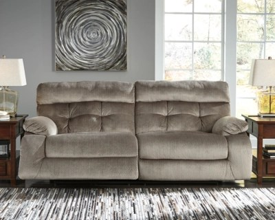 Brassville Reclining Sofa Ashley Furniture Homestore