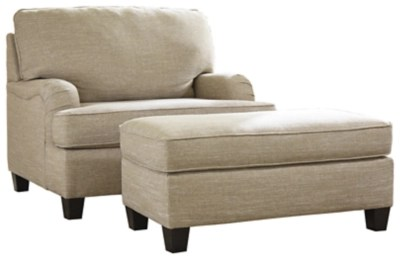 Almanza Chair And Ottoman Ashley Furniture Homestore