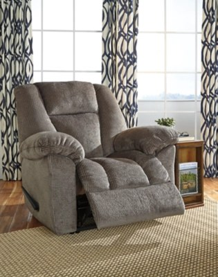 Nimmons Manual Recliner Ashley Furniture Homestore