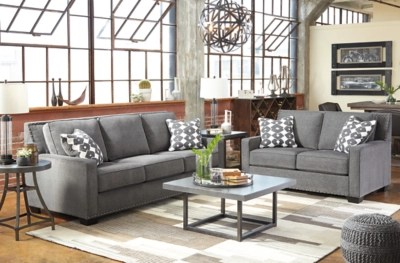 Gray Sofas For Living Room Brace Sofa Ashley Homestore