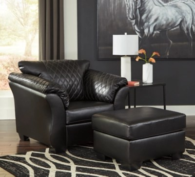 Betrillo Chair And Ottoman Ashley Furniture Homestore