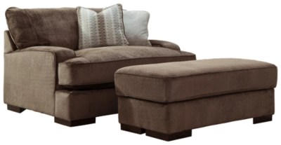 Fielding Oversized Chair And Ottoman Ashley Furniture Homestore