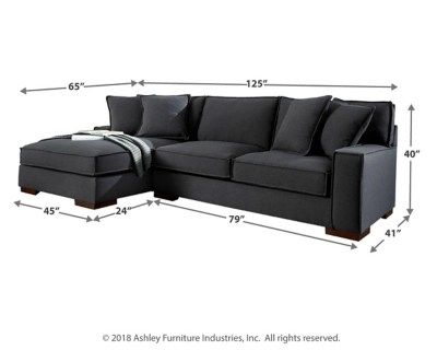 Meubles Ashley Floride Gamaliel 2 Piece Sectional With Chaise Ashley Furniture Homestore