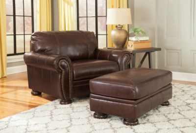 Banner Oversized Chair Ottoman Ashley Furniture Homestore