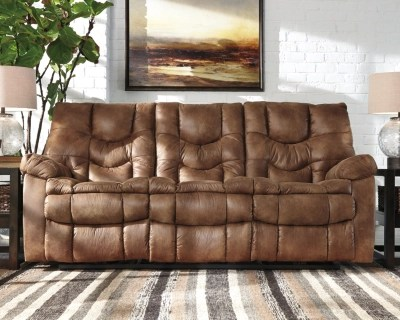 Big Sofa Fawn Darshmore Power Reclining Sofa Ashley Homestore