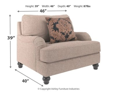 Fermoy Oversized Chair Ashley Furniture Homestore