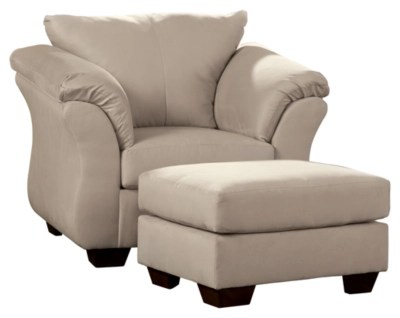Darcy Chair And Ottoman Ashley Furniture Homestore
