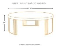 Keelin Mid Century Coffee Table | Ashley Furniture HomeStore