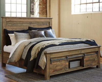 Bedding Storage Sommerford Queen Storage Bed Ashley Furniture Homestore