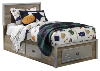 Mckeeth Twin Panel Storage Bed Ashley Furniture Homestore