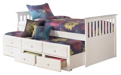 Discount Trundle Beds Lulu Twin Trundle Bed Ashley Furniture Homestore