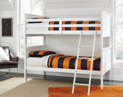 Double Bunks For Sale Lulu 3 Piece Twin Over Twin Bunk Bed Ashley Furniture Homestore