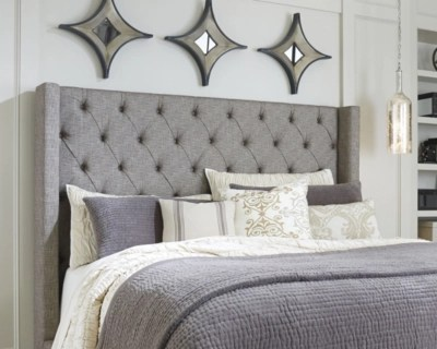 Sorinella Queen Upholstered Headboard Ashley Furniture