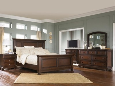 Meubles Ashley Floride Porter 5 Piece Queen Master Bedroom Ashley Furniture Homestore