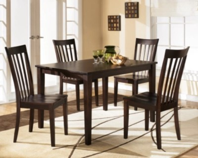 Hyland Dining Table And Chairs Set Of 5 Ashley Furniture Homestore