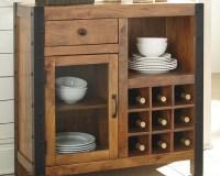 Glosco Wine Cabinet | Ashley Furniture HomeStore